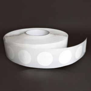 Tag 37 mm - Papier blanc