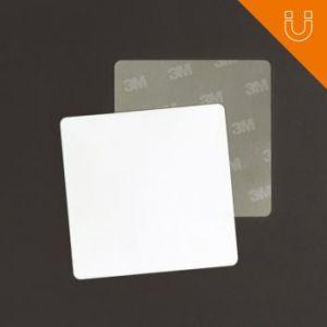 Tag semi rigide 43 x 43 mm - Prélam (PVC) + ferrite