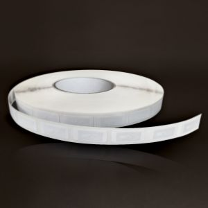 Tag 14 x 35 mm - PET blanc / puce SLI-X
