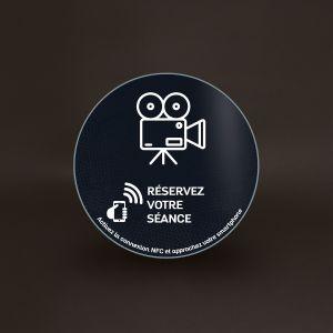 Plaque Véralite - Cinéma