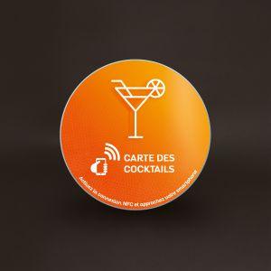Plaque Véralite - Carte des Cocktails