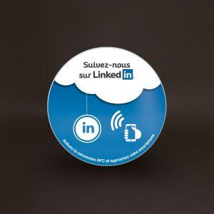 Plaque Véralite - LinkedIn