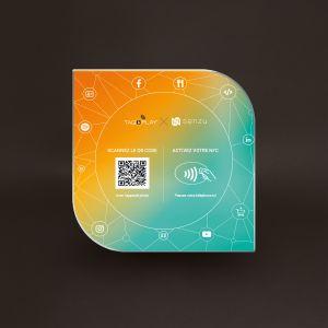 Plaque connectée multifonction Tag&Play® Solution Senzu