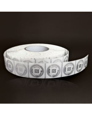 Tag 38 mm - PET transparent