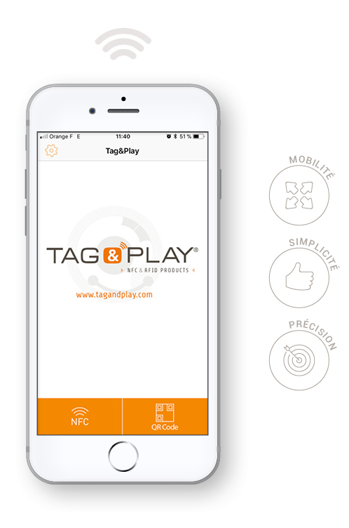 application tag&play apple iphone